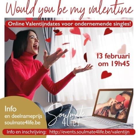 Online Valentijndates voor ondernemende singles!