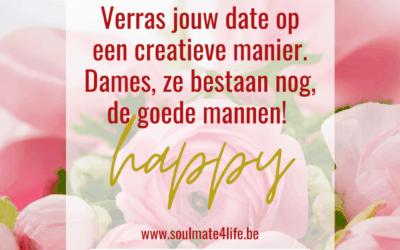 Verras jouw date op een creatieve manier!