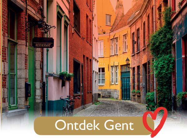 Ontdek Gent - Gentse liefdesroute