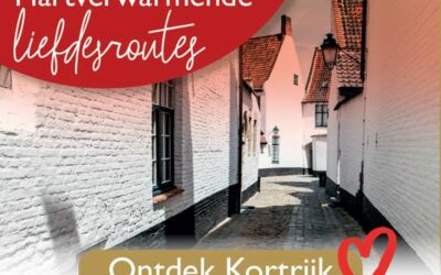 Leuke date met de Kortrijkse-, Brugse- en Gentse liefdesroute!